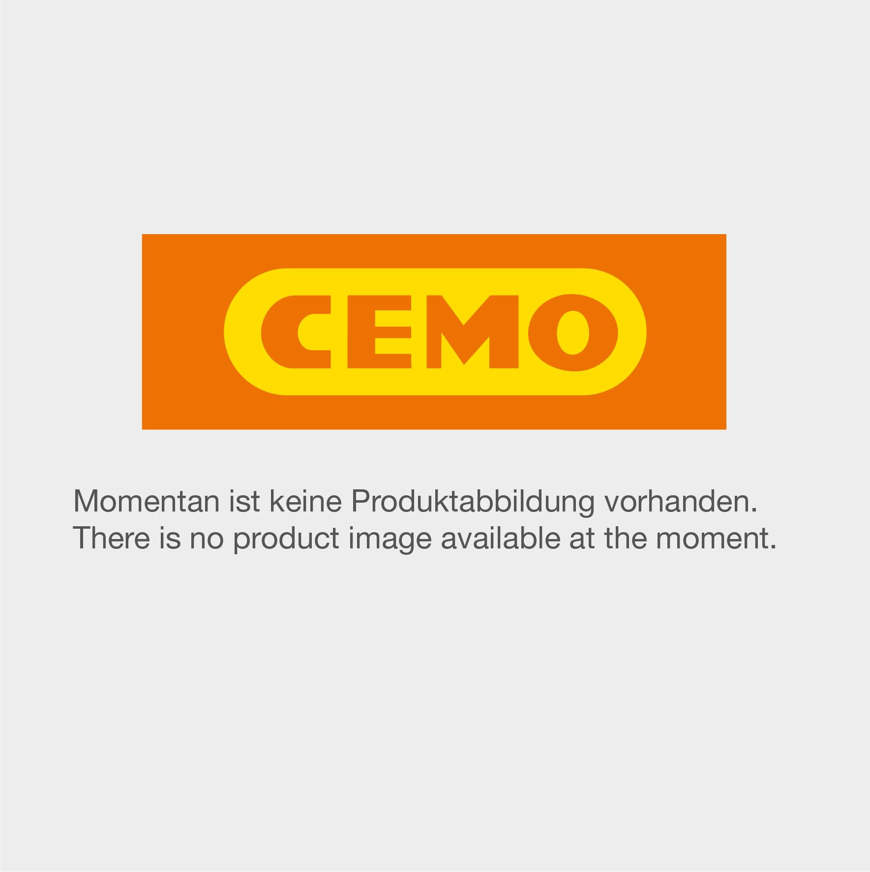 PVC-Kugelhahn mit Edelstahlflansch