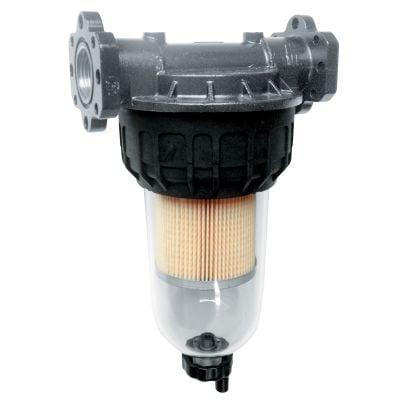 Filter mit Klarsichtbehälter, max.100 l/min