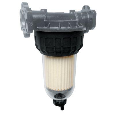 Filter mit Klarsichtbehälter, max.70 l/min