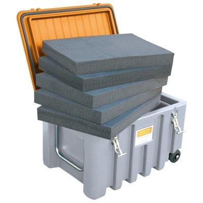 Schaumstoffeinlage für CEMbox 150 und 250 l