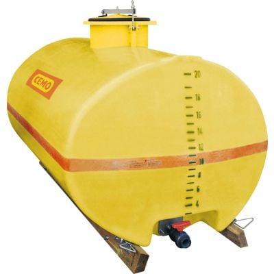 GFK-Fässer oval für Unimog, Multicar und Pfau