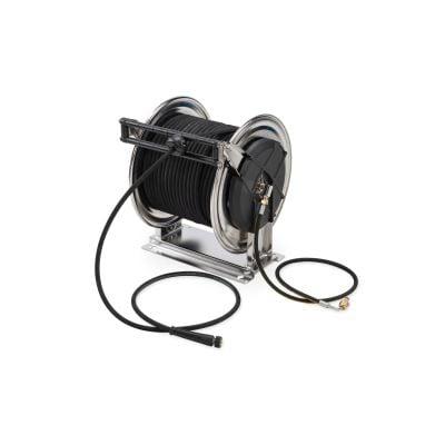 Schlauchtrommel mit 40 m HDSchlauch  DN10 22 MPa