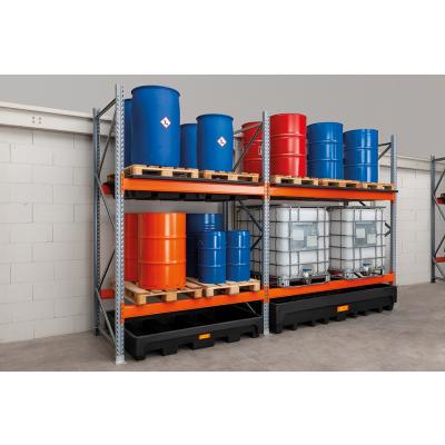 Anbauregale für Gefahrstoff-Palettenregal