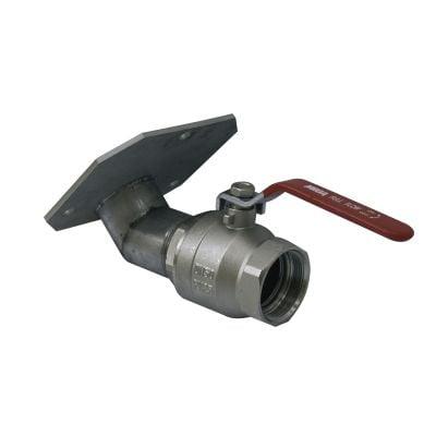 Auslaufhahn speziell für 13500 l und 15500 l GFK-Fässer