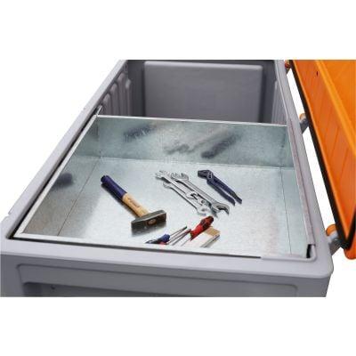 Einlegeschale aus Metall für CEMbox 400 und 750 l