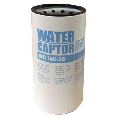 Filter mit Wasserabscheider, max. 150 l/min