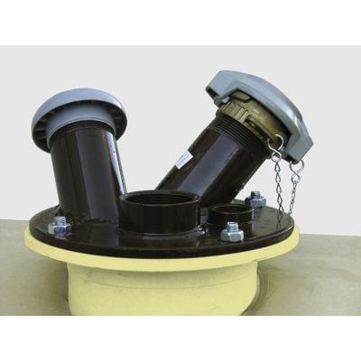 Domdeckel Stahl für GT-und DW Dieseltankstationen