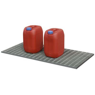 Stahlgitterrost für PE-Auffangwannen 30 l und 40 l