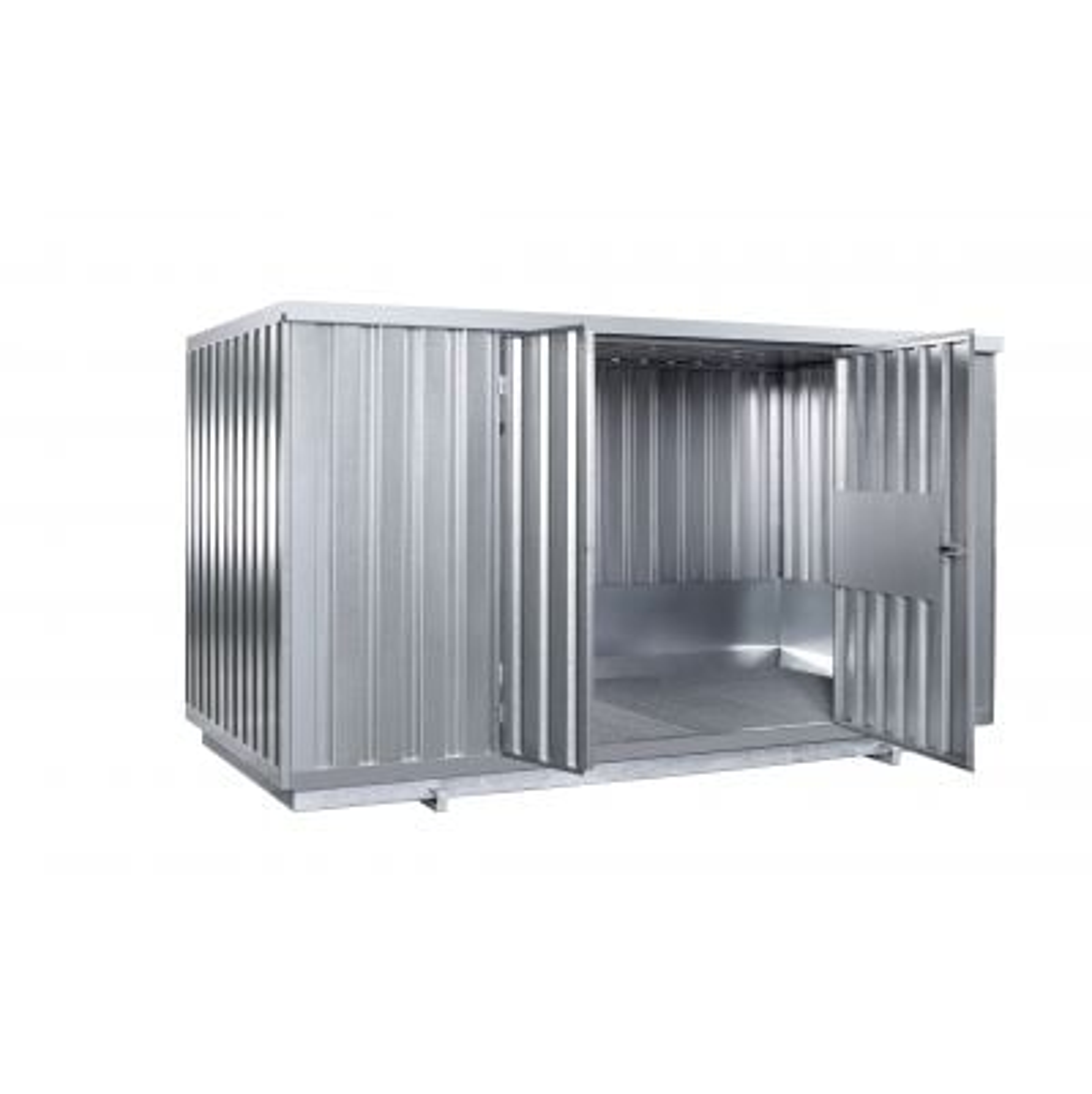 Sicherheits-Raumcontainer mit natürlicher Belüftung