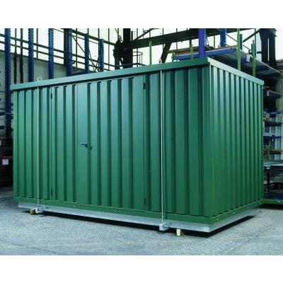 Sicherheits-Raumcontainer für wassergefährdende Stoffe