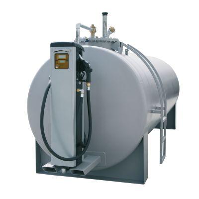Stahltank mit Konsole für Dieselzapfsäulen